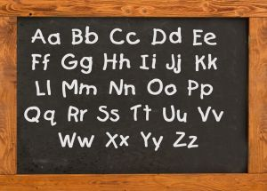 education%20school%20day%20care%20black%20chalkboard%20with%20letters%20capital%20and%20small%20letters It is important for day care centers / child care centers to have a properly ...