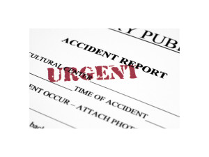 Accident Report - Urgent