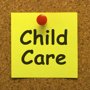 Child Care Note Or Message As Reminder For Kids Daycare