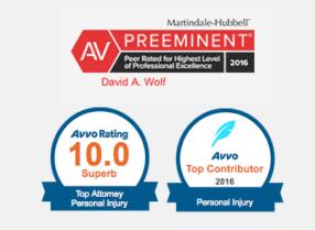 AVVO Badges 2016