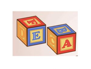 Toy Blocks E & A